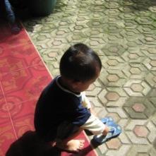 My lil bro :)