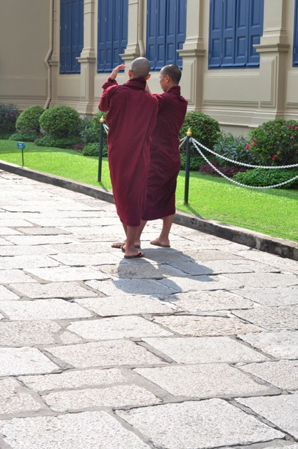 Monks at Grand Palace